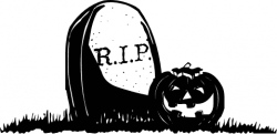 Grave clipart creepy