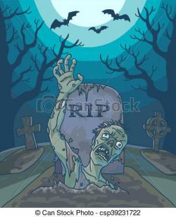 Grave clipart dead man