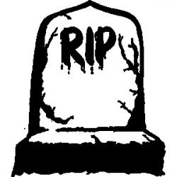Graves clipart died