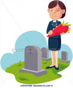 Cemetery clipart grave