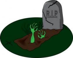Graves clipart tomb