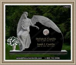 Headstone clipart flat