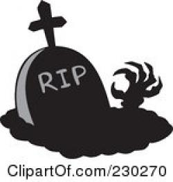 Grave clipart hand