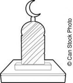 Grave clipart islamic