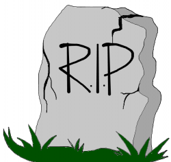Gravestone clipart rest in peace