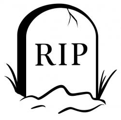 Grave clipart rest in peace