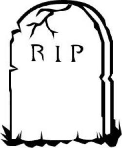 Grave clipart rip
