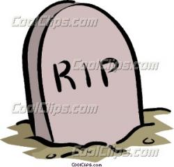 Headstone clipart cemetery