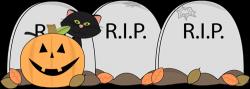 Grave clipart halloween