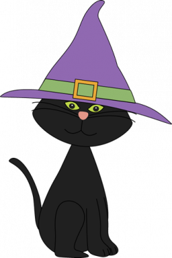 Whiskers clipart cat in hat
