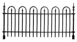 Cemetery clipart fence