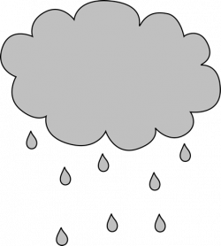 Clouds clipart gray cloud