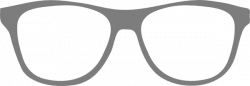 Grey clipart sunglasses