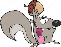 Gray Squirrel clipart