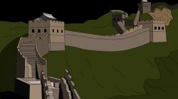 Parthenon clipart great wall china