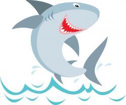 Hammerhead Shark clipart friendly