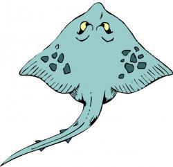 Shark clipart stingray