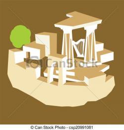 Riuns clipart ancient city