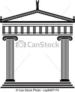 Greece clipart greek architecture