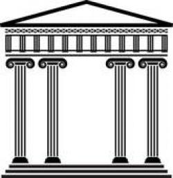 Temple clipart greek architecture