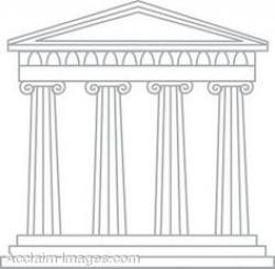 Monument clipart greek temple