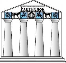 Parthenon clipart athens