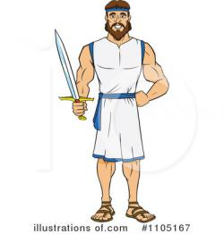 Warrior clipart greek hero