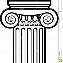 Greece clipart greek pillar