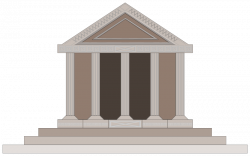 Greece clipart greek temple