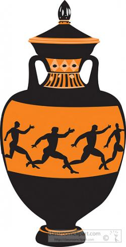 Greece clipart greek vase