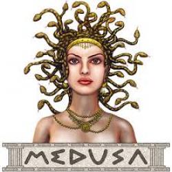 Medusa clipart greek myth