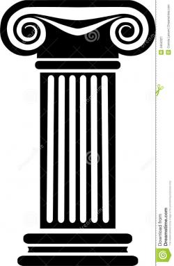 Columns clipart greek column