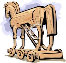 Trojan Horse clipart ancient greece