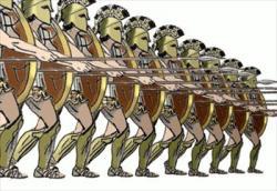 Greek clipart battle