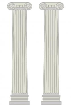Columns clipart italian