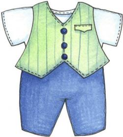 Denim clipart boy clothes