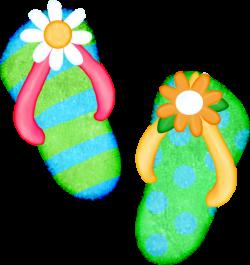 Sandal clipart hawaiian