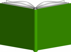 Rear clipart open book