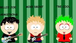 Green Day clipart gril