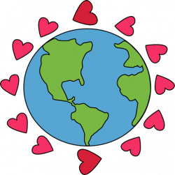 Green Day clipart love earth