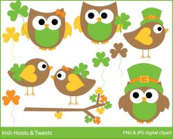 Green Day clipart owl
