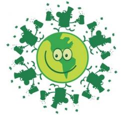 Green Day clipart planet earth