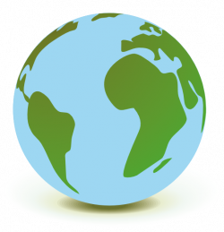 Planet Earth clipart animated globe