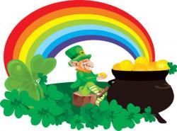 Green Day clipart rainbow