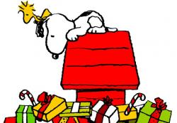 Snoopy clipart holiday
