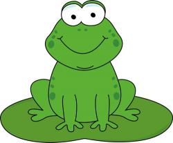 Stories clipart frog