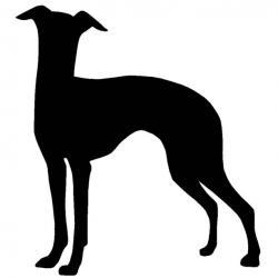 Greyhound clipart italian greyhound