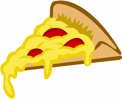 Pizza clipart melted