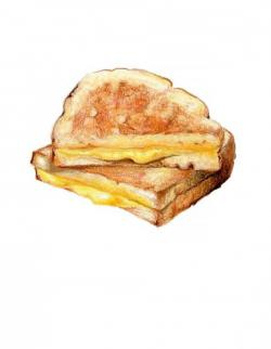 Grilled Cheese clipart croque monsieur