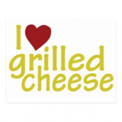 Grilled Cheese clipart i love